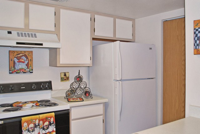 Kitchen with ample cabinet space Promontory Point