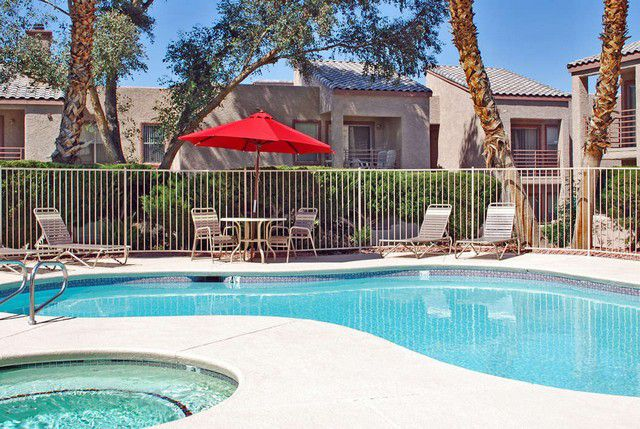 Henderson Two Bedroom Apartments pool and sauna