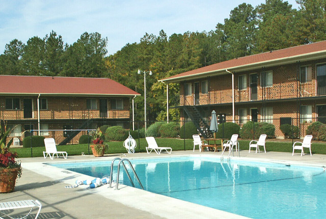 pool at the Apartments For Rent in Carrboro, NC 27510