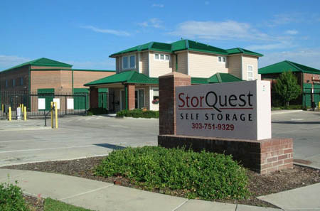 Street shot of StorQuest Self Storage in Aurora CO