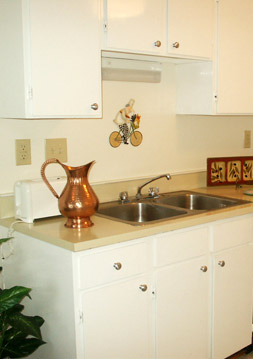 Richmond apartments amenities in the kitchen