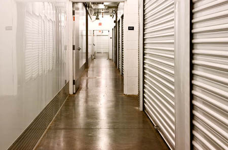 Hallways at Centennial's cleanest self storage facility