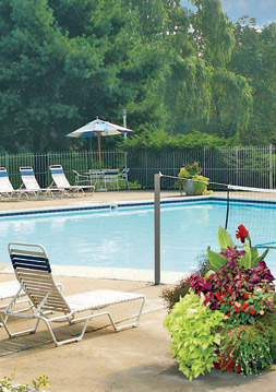 Richmond, va apartment amenities pool at Chesterfield Village