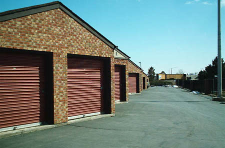 Outdoor units are available at self storage in Centennial