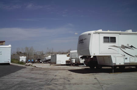 Self storage in Centennial, CO offers RV storage solutions