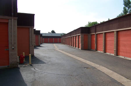 Outdoor units are available at self storage in Westminster