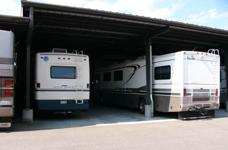 Westminster self storage offers RV storage solutions