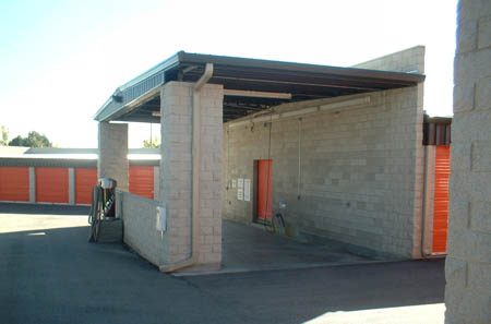 Westminster self storage includes a car wash