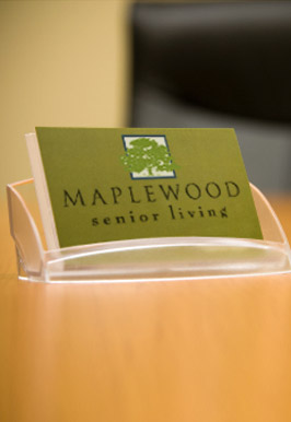Maplewood senior living is proud of their leadership.