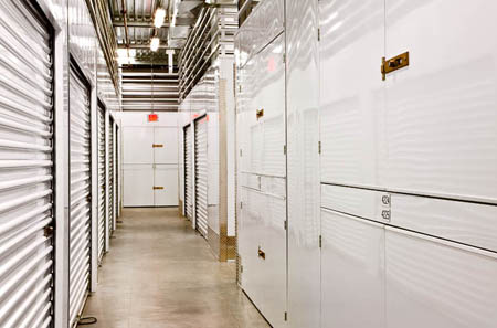 Lockers are one of the types of units Los Angeles self storage offers