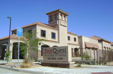 StorQuest RV/Boat & Self Storage serving Palm Springs & Indio, CA