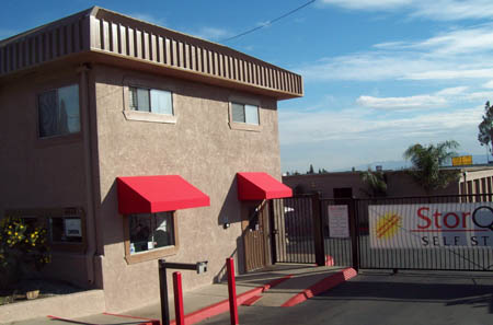 Gate Entrance at StorQuest Self Storage Ontario, CA