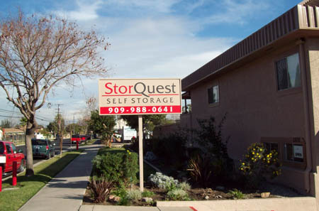 Welcome to StorQuest self storage in Ontario, CA
