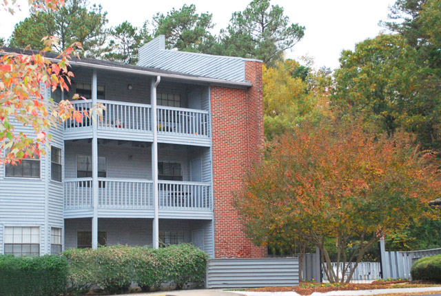 balconies at the Apartments For Rent in Chapel Hill, NC 27514