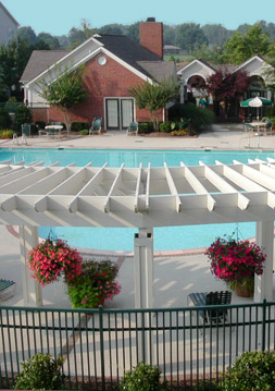 Amenities at apartments in glen allen include a clubhouse.