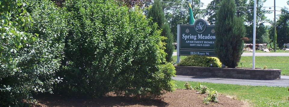 Main Enterance at Spring Meadows, Romulus, NY
