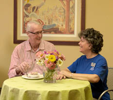 Garden View Care Center of Chesterfield respite care is solution when a caregiver of a stay-at-home adult needs a vacation