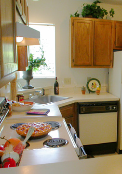 Kitchen Bryn Athyn at Six Forks