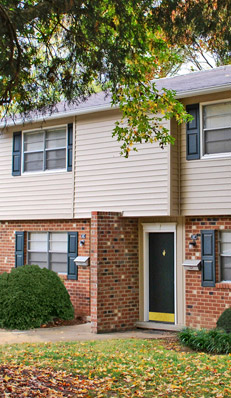 Booker Creek Townhouse Apartments in Chapel Hill have great amenities..