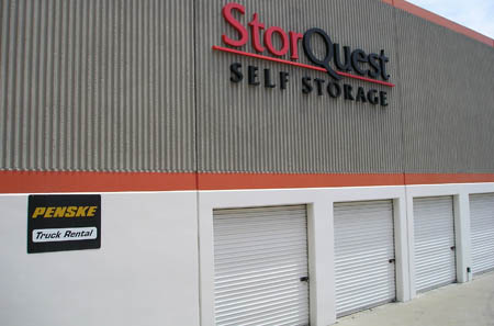 Self Storage units in torrance, exterior photo