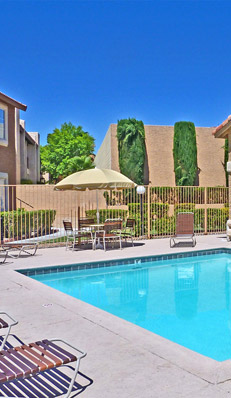 Las Vegas apartments for rent at Royal Palms have great amenities.