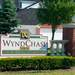 Entry sign at Wyndchase, Canton MI apartments
