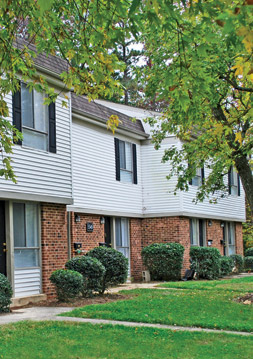 Contact Brook Hill Townhouse Apartments in Raleigh, NC.
