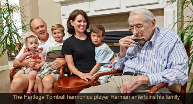 Ht herman harmonica Legend Retirement Corporation