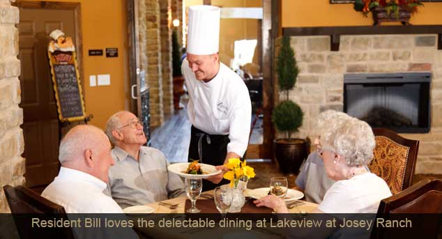 Ljr bill dining Legend Retirement Corporation