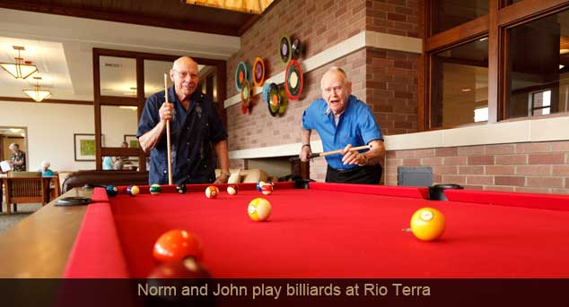 Rt norm john billiards Legend Retirement Corporation