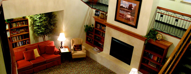 Interior of senior apartments in troutdale, or