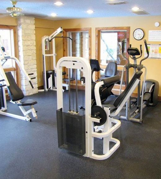Our apartments in Austin, TX feature a fitness room