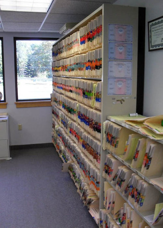 Veterinary files of pets in Oley, PA