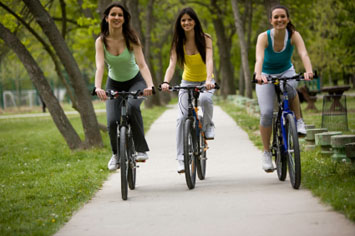 ride bikes to recreation in Houston