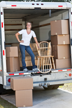 Self Storage Plus offers a move in truck at select locations