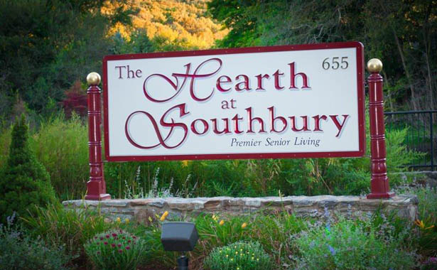 Community entrance The Hearth at Southbury