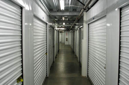 Interior storage units at our Oakland facility.