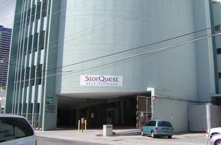 exterior of StorQuests Honolulu faciliy.