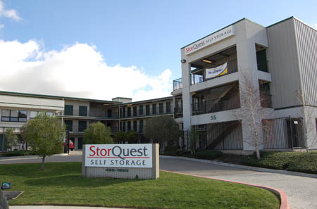 StorQuests San Rafael self storage facility