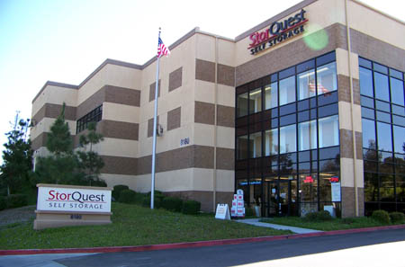 street view of storquest anaheim