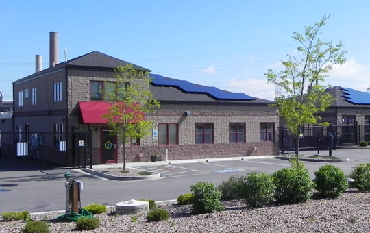 Exterior facility co Boulder Self Storage