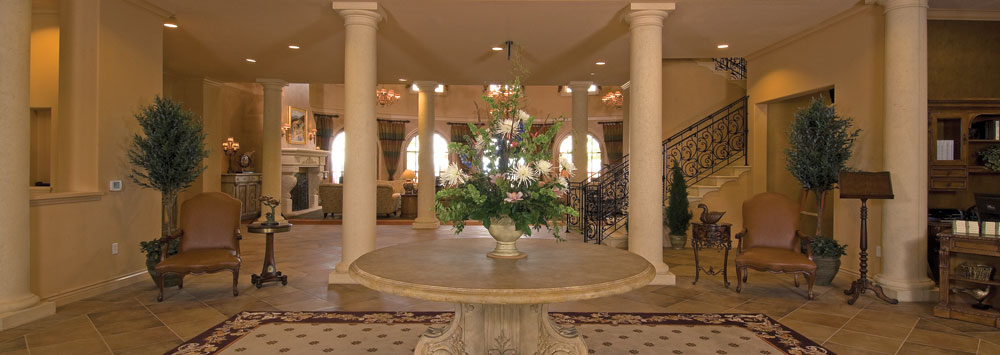 Lobby senior living Varenna