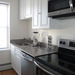 Updated kitchen at our apartments for rent in Bridgeport, CT 06604