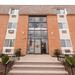 Building entrance at our apartments for rent in Bridgeport, CT 06605