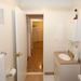 Updated restroom at our apartments for rent in Bridgeport, CT 06605