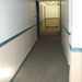 Bright, clean hallways at our apartments for rent in Bridgeport, CT 06604