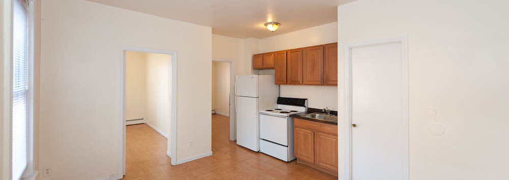 Kitchen area at our Bridgeport apartment rentals