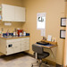 An exam room at Kitsap Veterinary Hospital