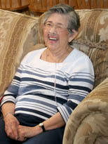 Senior enjoying in home care in Los Angeles & Ventura Counties.