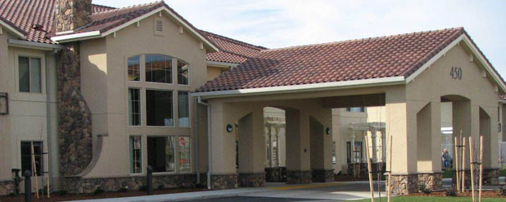 Community exterior of Westmont of Brentwood assisted living community